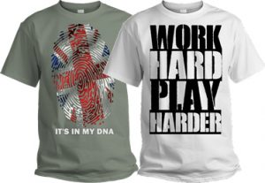 custom personalised t shirt printing