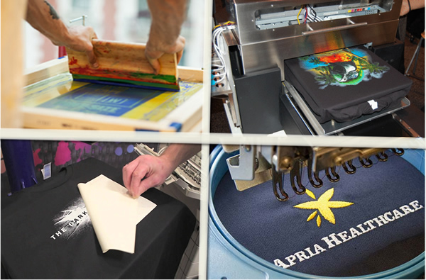 t shirt printing methods