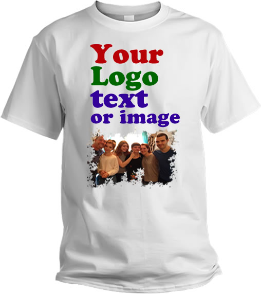 Cheap White Custom T Shirt Printing Single Sided | Go Printer